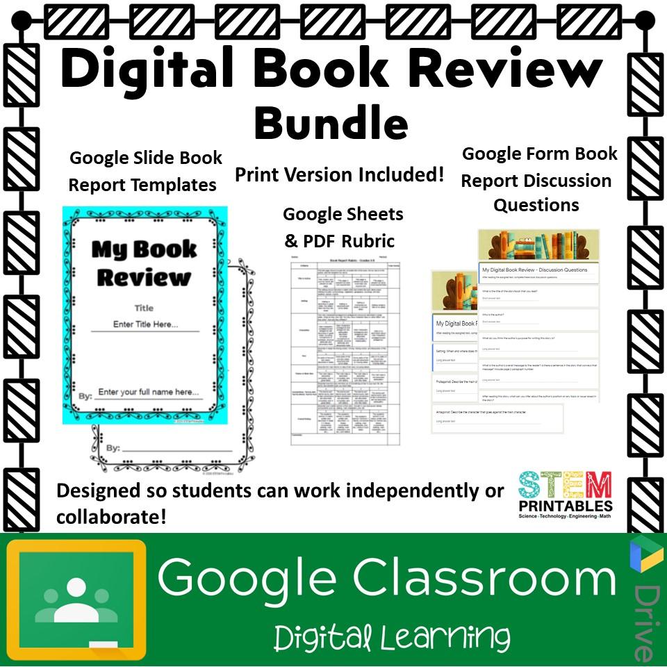 Digital Book Review Template