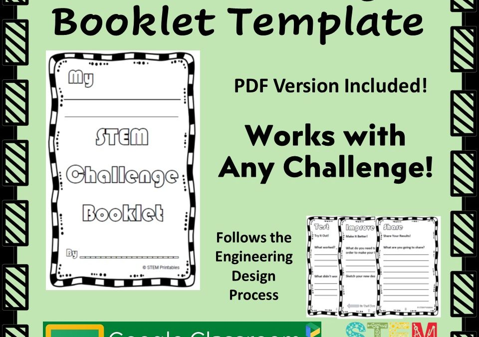 My STEM Challenge Booklet – Problem Solving Graphic Organizer